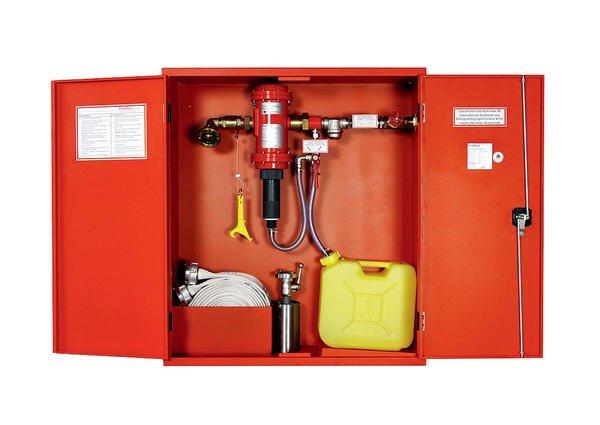 f r den brandfall ger stet zumischsysteme in wandhydranten. Black Bedroom Furniture Sets. Home Design Ideas