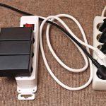 Elektrische Geräte im Büro bergen auch Gefahren, elektrische.