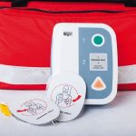 Automated_External_Defibrillator_and_rescue_bag,_horizontal