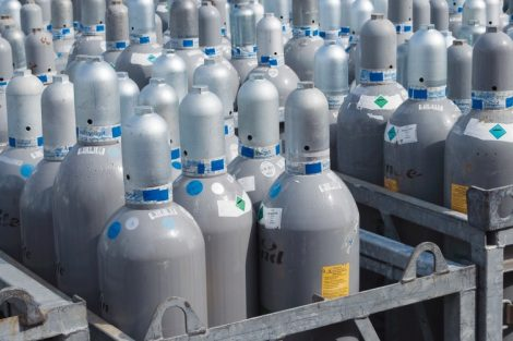 Druckgasflaschen