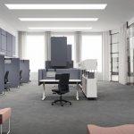 Lärm Großraumbüro