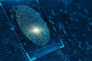 Digital_biometric,_security_and_identify_by_fingerprint_concept._Scanning_system_of_the_fingerprint._3d_rendering