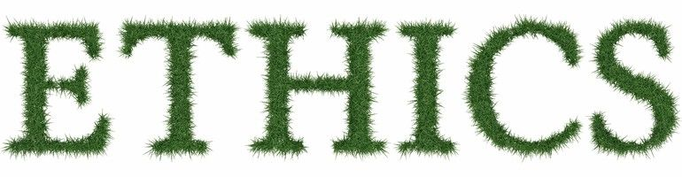 Ethics_-_3D_rendering_fresh_Grass_letters_isolated_on_whhite_background.
