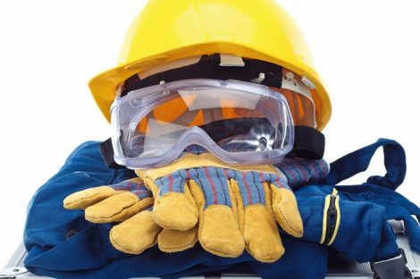 Safety_equipment_set,_close_up_on_white