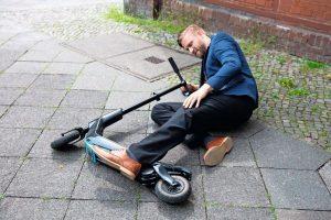 Risiken bei e-scooter