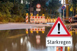 Notfallvorsorge bei Starkregen