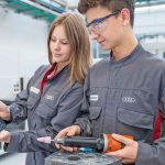 The_Carmaker_provides_vocational_training_in_20_occupations_in_Ingolstadt_and_Neckarsulm._Most_of_the_apprenticeships_will_be_in_mechatronics,_production_mechanics_or_auto_mechatronics.